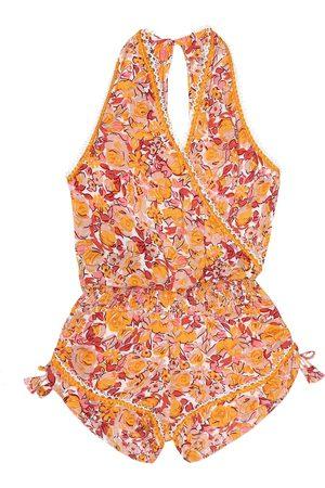 Poupette St Barth Kids Jena floral jumpsuit