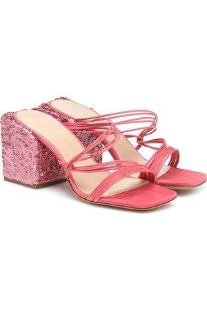 Jacquemus Les Mules Estello leather sandals