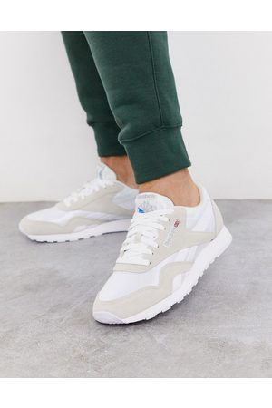Reebok Classic nylon trainers in
