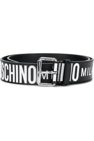Moschino Men Belts - All-over logo belt