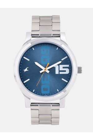 Fastrack Men Blue Analogue Watch 38051SM05