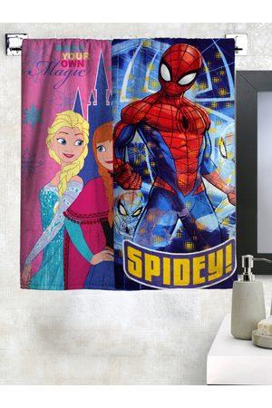 Disney Kids Set of 2 Cartoon Print Bath Towels