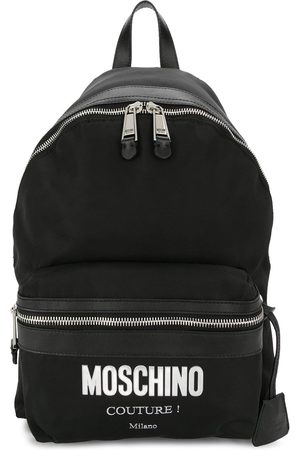 Moschino Cordura logo backpack