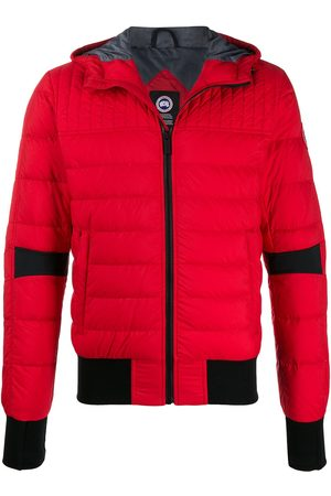 Canada Goose Fitted hooded puffer jacket