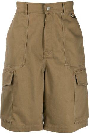 Ami Paris Patch pocket bermuda shorts