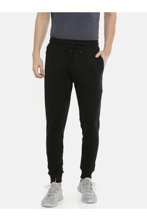 Proline Men Black Solid Recovermax Traveller Comfort Fit Joggers