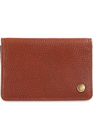 Hidesign Men Tan Brown Solid Leather Card Holder
