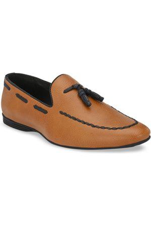 San Frissco Men Tan Brown Boat Shoes