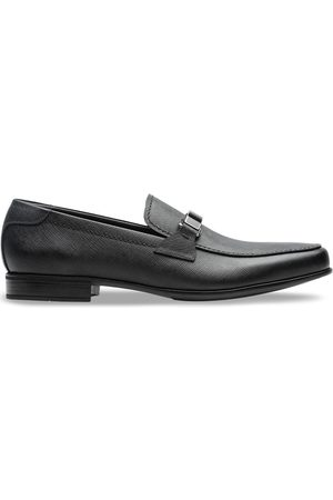 Prada Saffiano leather loafers