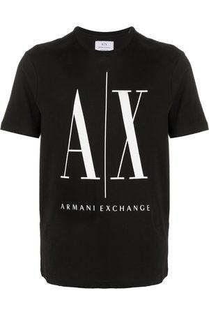 Armani Logo print short-sleeve T-shirt