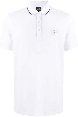 Armani Men Polo Shirts - Embroidered logo polo shirt