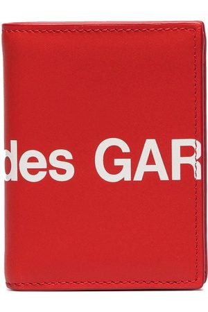 Comme des Garçons Men Wallets - Large logo print wallet