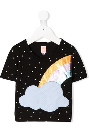 Wauw Capow Short sleeve dotted rainbow T-shirt