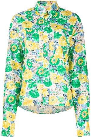 Plan C Women Long Sleeve - Floral print shirt