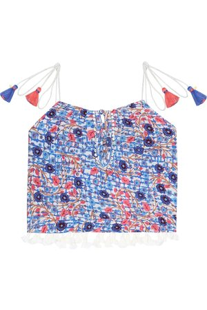 POUPETTE ST BARTH Girls Tank Tops - Mara printed tank top