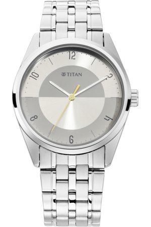Titan Neo Eco Men Silver Analogue watch 1729SM07