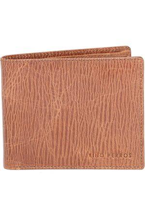 Lino Perros Men Tan Brown Genuine Leather Wallet