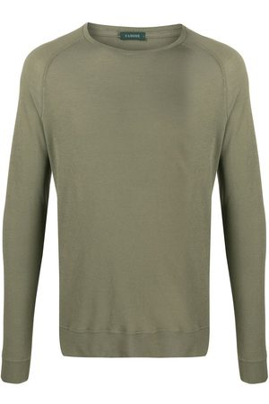 ZANONE Men Sweatshirts - Fitted round neck sweatshirt