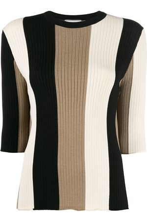 Ami Striped knitted jumper