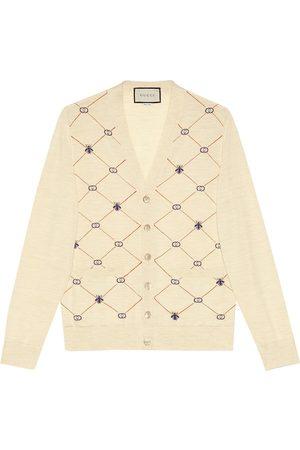 Gucci Monogram pattern cardigan