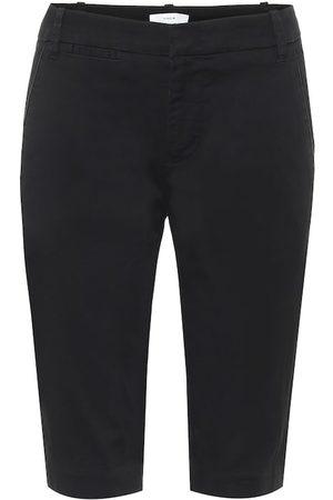 Vince Stretch-cotton berumda shorts