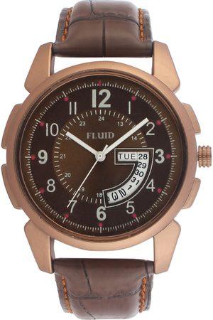 FLUID Men Watches - Men Brown Analogue Watch FL-748G-BR01