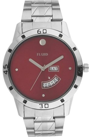 FLUID Men Maroon Analogue Watch FL-755G-RD01