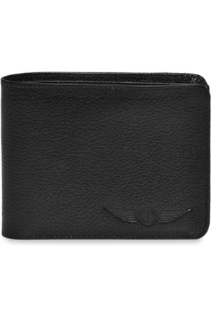 CHRISTOPOLO Men Black Solid Two Fold Wallet