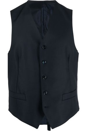 Dell'oglio Single-breasted wool waistcoat