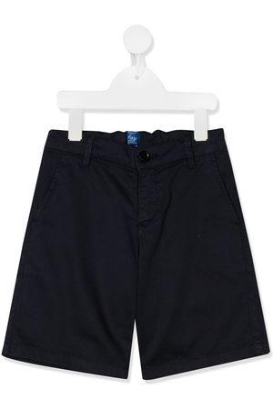 FAY KIDS Straight leg chino shorts