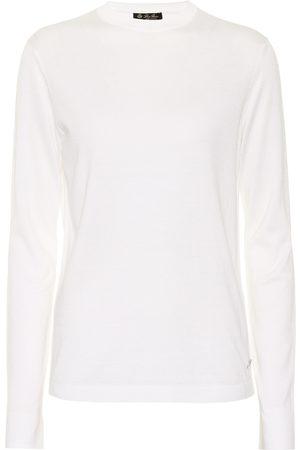 Loro Piana Silk and cotton crewneck sweater