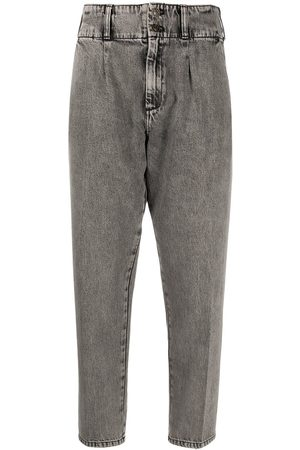 Current/Elliott Cropped tapered trousers