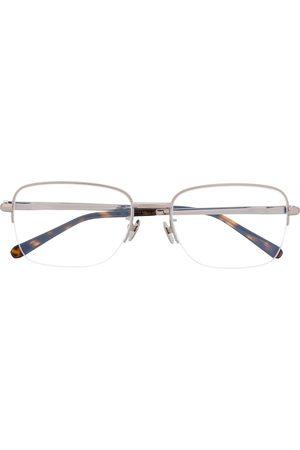 BRIONI Men Sunglasses - Two-tone square-frame glasses