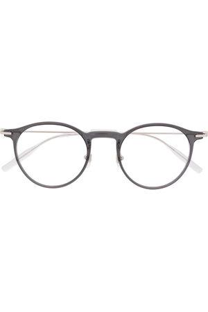 Mont Blanc Sunglasses - Polished round-frame glasses