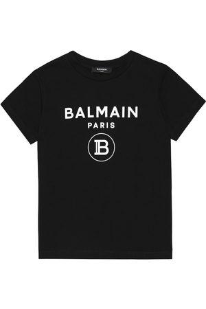 Balmain Girls T-shirts - Cotton T-shirt