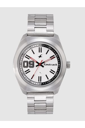 Fastrack Men White Analogue Watch NL3174SM01