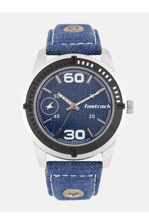Fastrack Men Blue Analogue Watch 3189KL02