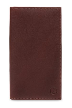 PURE LUXURIES LONDON Men Brown Solid Genuine Leather Gregan Wallet