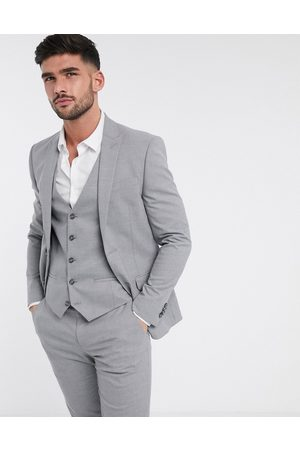 River Island Skinny fit suit jacket in