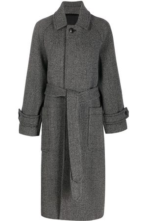 Ami Belted long coat