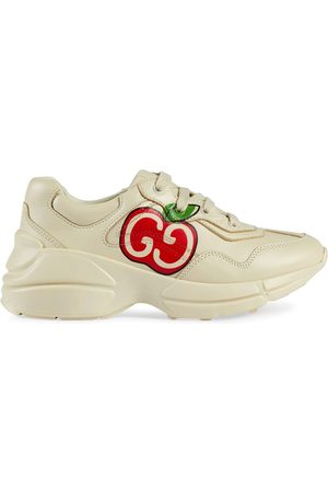 Gucci GG apple print Rhyton sneakers