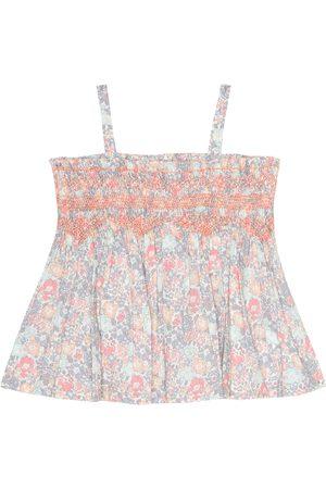 BONPOINT Baby Naelie floral cotton top