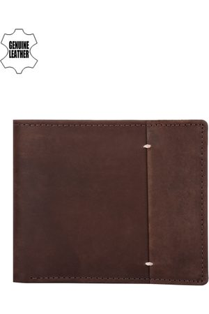 Teakwood Leathers Teakwood Leather Men Brown Leather Wallet