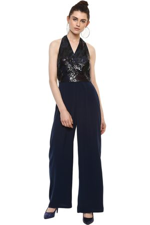 Kazo Women Navy Blue Jumpsuit