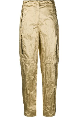 Serafini Metallic trousers