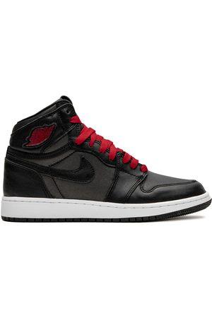 Jordan Kids Air Jordan 1 High Retro GS satin/gym red