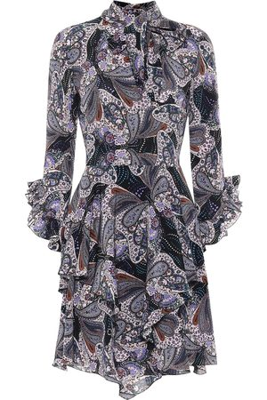 Etro Paisley silk dress