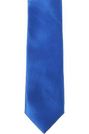 Peter England Men Blue Solid Broad Tie