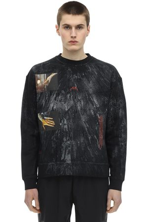 A-cold-wall* Oversize Printed Jersey Sweatshirt