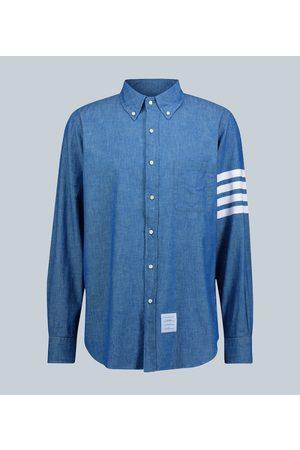 Thom Browne 4-Bar chambray shirt
